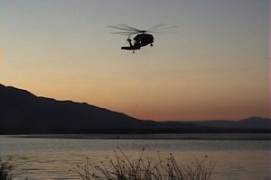 Inyo County Search and Rescue Helicopter training