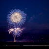 Fireworks spectacular at Crowley Lake!  Photo by Tom Klinefelter