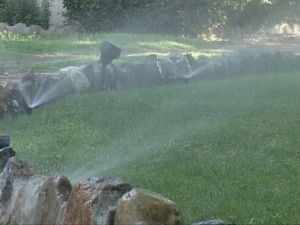 """According to MCWD, """"Water demand in Mammoth triples when the outdoor watering season commences."""""""