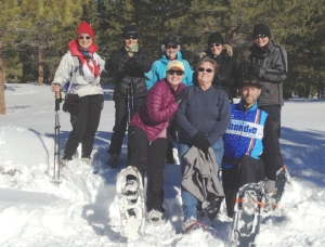 Mammoth Nordic group poses for the camera.
