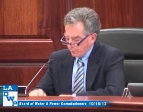 Commission President Mel Levine