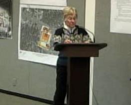 Sandy Hogan said the public process is missing.