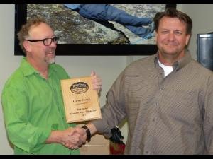 Rick Mosher Team Member of the Year - Glenn Goryl.