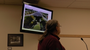 Paul Freitheim suggested a solar canopy over the aqueduct.