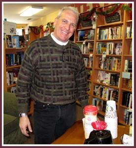 Ted Schade mans an ICARE fundraiser