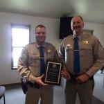 California Highway Patrol Officer Merrill Sept and Lieutenant Jeff Holt