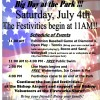 BIG DAY AT THE PARK 2015 - Flyer