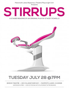 STIRRUPS FLYER STAGED READING