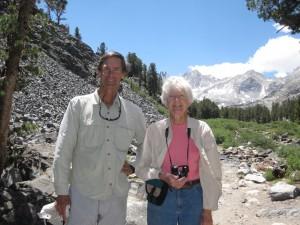 Stephen Ingram and Carol Rose, authors of Rock Creek Wildflowers
