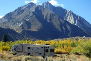 Convict Lake campground Photo by Alicia Vennos