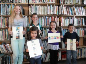 Winners and runners-up from the last contest: Jessa Roberts, Robin-Linse, Brooke Taylor, Leroy Charley and Rachel Bradfield