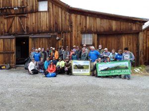Previous Bodie volunteers - photo courtesy of Nancy Frye