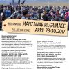 NPS Manzanar Pilgrimage 2015 flier