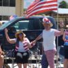 This couple got into the patriotic spirit of July 4 at the 2016 Independence Day Parade in Independence.