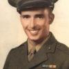 Marine Pfc Robert Borchers WWII