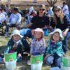 2019-3-16_Blake Jones Tournament (12)_Sage, age 4, Sierra, age 6, and Brook, age 4, with mom,Tara, and dad, Richard Lancaster of Bishop, Calif. (Custom)