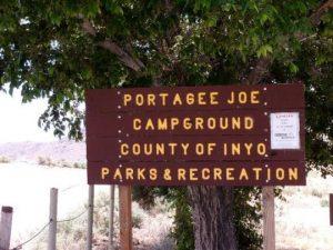 Portagee Joe Campground Inyo