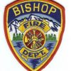 Bishop Fire Department patch